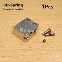 1Pcs High Speed Volcano Sensor Heater Block For PT100 sensor cartridge All-Metal Aluminum 24x20x12mm 24*20*12mm