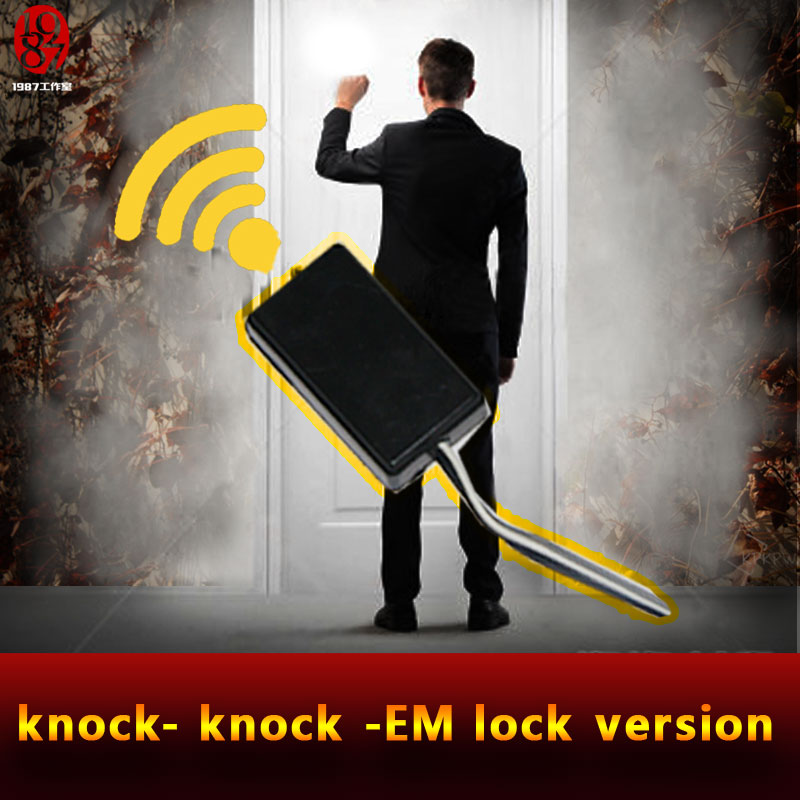 Chamber room prop escape prop Knock at the door to escape, secret in the door, the mysterious door,real life room escape game