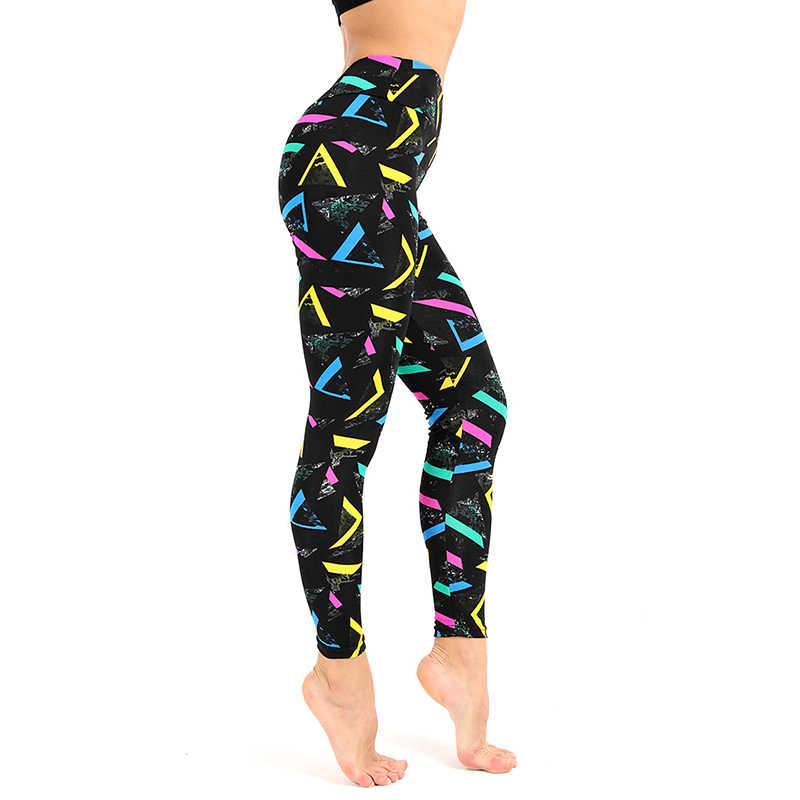 0240ac59b5d61 ... WIILII Fitness Women Leggings High Waist Digital Printed Push Up  Workout Leggings Elastic Female Sporting Leggins ...