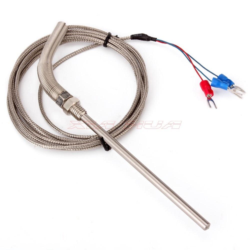 PT100 Thermoelement Sensor Temperatur range 20C ~ 420C draht ...