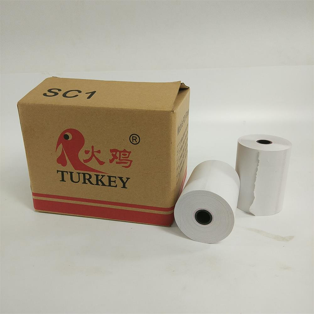 50Rolls/Carton Direct Thermal Receipt Paper 80mm X 60mm Cash Register Paper Till Roll
