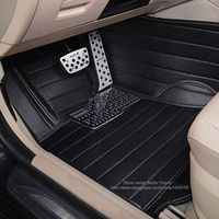 Customized car floor mats for Audi A3 3D car styling PVC leather luxury foot case perfect carpet full cover rugs liners (2014 )