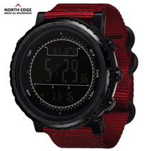Man sport Digital outdoor Military watch Hours Men Gift  Altitude Barometer Compass Thermometer Pedometer camping North Edge