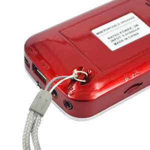 Image 3 - Kebidu 2019 taşınabilir L 088 mikro SD TF kart FM radyo HIFI şarj edilebilir müzik çalar çift hoparlör Mini hoparlör MP3