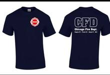 Chicago Fire Zeigen TV Zeigen Chicago Feuer-Abteilung T-shirt Duty Hemd Rettungs(China)
