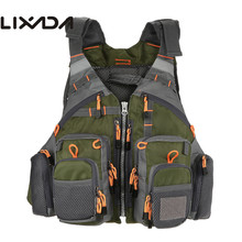 Lixada Fishing Vest Breathable Outdoor Sports Fly Swimming L