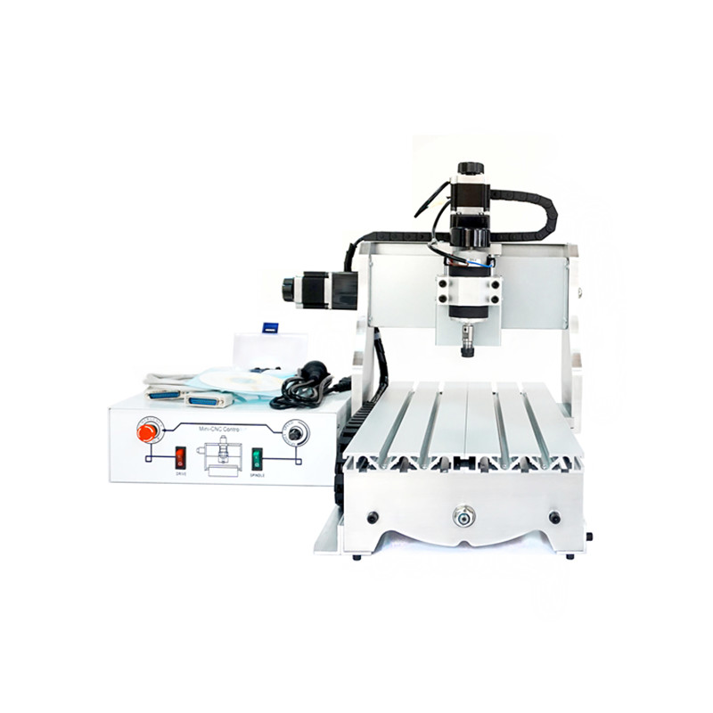 300W spindle mini cnc router 3020 white control box cnc drilling machine 2030 cnc dc spindle motor 500w 24v 0 629nm air cooling er11 brushless for diy pcb drilling new 1 year warranty free technical support