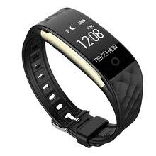Новинка 2017 года S2 Смарт-браслет сердечного ритма для IOS телефона android часы Смарт Браслет Sleep Fitness Водонепроницаемый PK Сяо Ми Группа 2X9