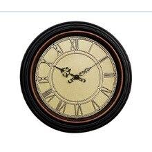 14 inch Wall Clock Saat Clock Reloj Duvar Saati Horloge Murale Digital Wall Clocks Relogio de parede Klok Watch Roman plastic