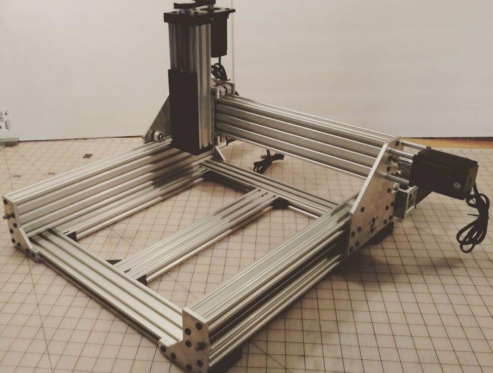 C-fascio KYO Sfinge router di CNC di fresatura costruire set V2 FAI DA TE kit di lavoro con NEMA 23 motore passo a passo