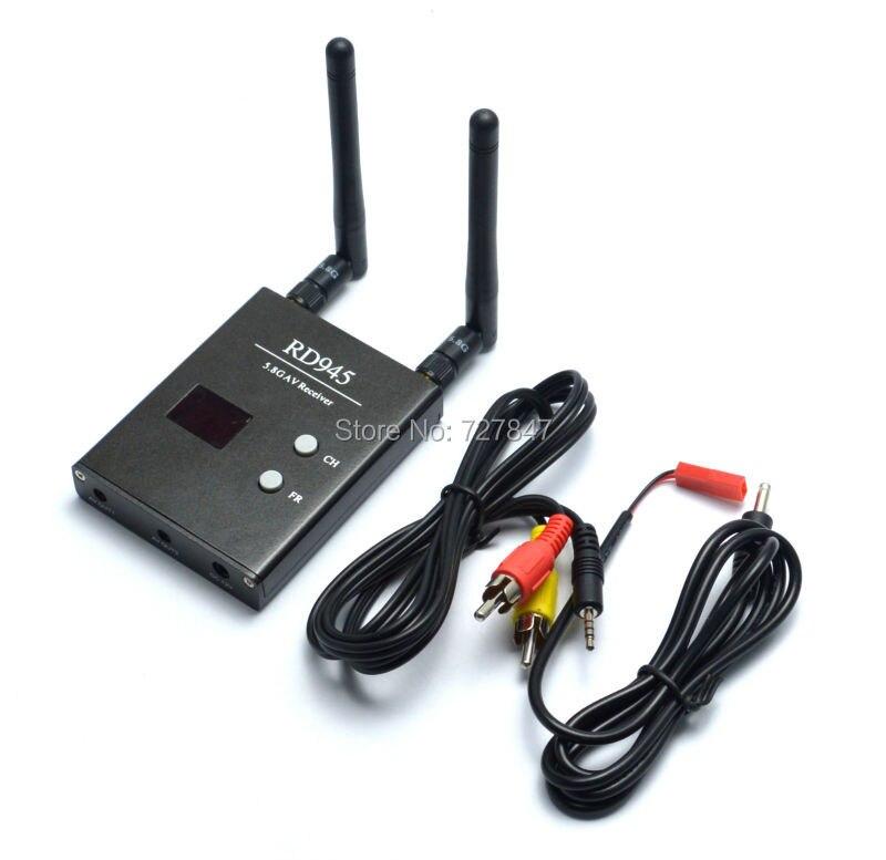 Skyzone RD945 ISM 5.8 GHz 48CH RD945 Nova Chegada Duplo Sem Fio Receber Receptor Para FPV Multicopter FPV Brinquedos RC Parte