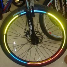 48 шт./лот, распродажа, светоотражающие наклейки для велоспорта, Безопасность и защита, горный велосипедный отражатель, аксессуары для велосипедов, Прямая поставка