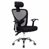 Goplus Ergonomic Mesh Office Chair Modern 360 Degree Swivel Armchair Black Blue Home Lift Chairs With