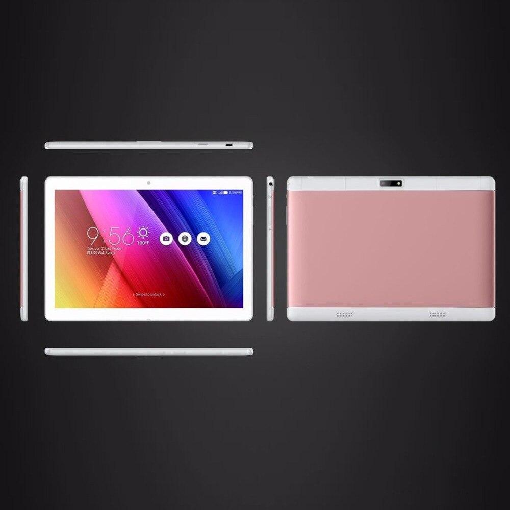 Nouveau 10.1 pouces comprimés 4 GB RAM + 64 GB ROM soutien play store OTG Double caméra Carte Android 6.0 tablet étendre TF carte à 64 GB