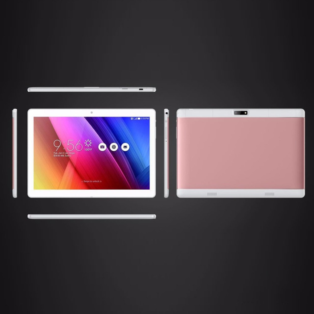 Nuovo tablet da 10.1 pollici 4 GB di RAM + 64 GB di ROM supporto play store Carta di OTG Doppia fotocamera Android 6.0 tablet estendere TF carta a 64 GB