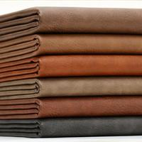 1 2mm Thickness Crazy Horse Leatherette Fabric Pu Synthetic For Bags Furniture Auto Upholstery Eco Leather