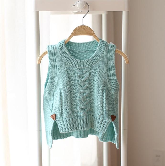 Primavera y otoño suéter bebé kittted Niños suéter chaleco bebé - Ropa de ninos