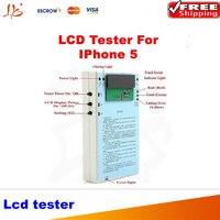 Mais recente iphone 5 caixa para tela de lcd digitador tester teste