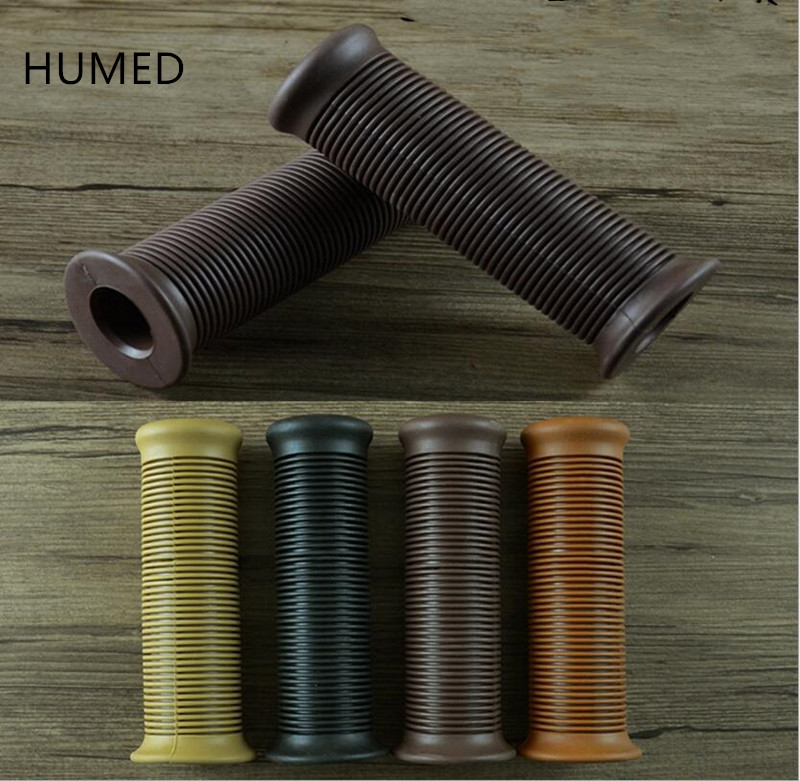 4 Colors Available Cafe Racer Parts 22MM  Rubber Motorbike Grip For Moto Handlebar Motorcycle Handle Grips