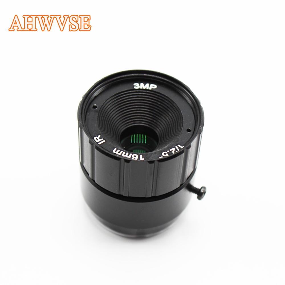 Long distance CCTV Lens For CCTV Camera 1080P 1/2.5'' 16mm 8mm CS LENS For HD Full AHD Camera IP Camera CS Mount 12mm 4mm цена