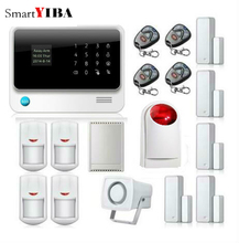 SmartYIBA Home House Smart Residential Safety Security Alarms WIFI APP Control Relayout Strobe Siren Door Open Reminder Alarm
