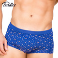 Taddlee Brand 4pcs Men Underwear Boxer Modal High Elastic Basic Trunks Gay Penis Pouch WJ Colors Shorts Pack Lot Big Size