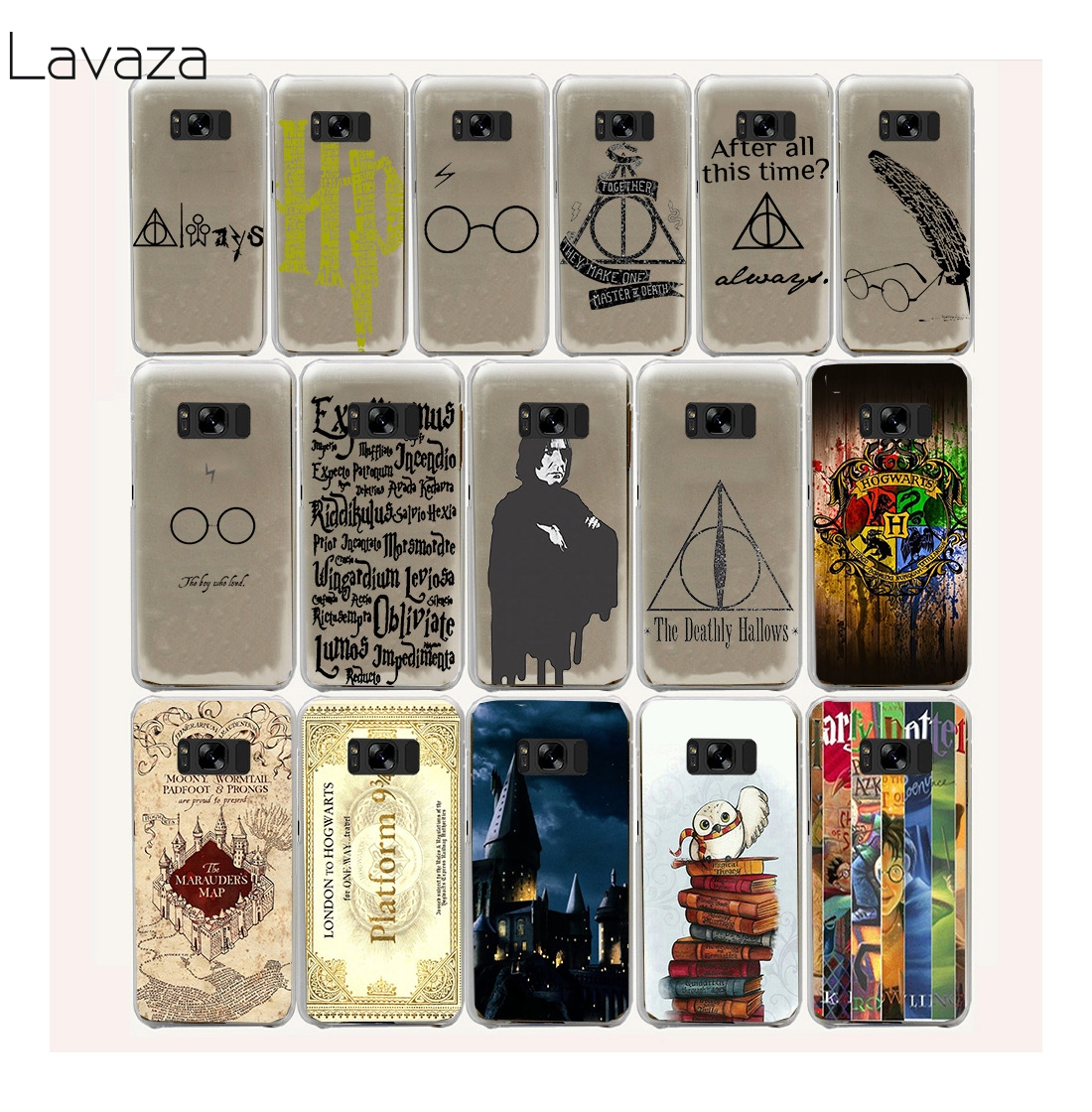 always Harry potter Hard Hollow Out Transparent Case Cover for Galaxy S3 S4 S5 Mini S6 S7 Edge Plus