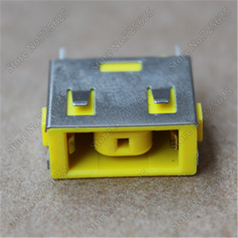 5pcs New AC DC Power Jack Plug Charging Port Socket Connector For Lenovo G400 G490 G500 G590 Z501 Z510 20pcs 5 5mm x 2 1mm round dc socket panel mounting power adapter dc power jack socket connector plug receptacle plastic