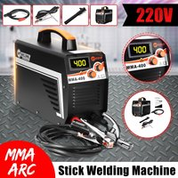 Mini MMA IGBT Inverter Arc Electric Welding Machine 220V Digital Display MMA Arc Stick Welders For Welding Working Machine Tools