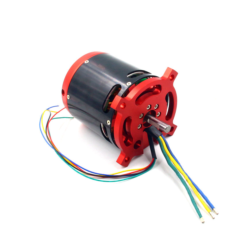 BLDC brushless DC sensored motor 80100 outrunner CA80 30-70V 8092 70KV with hall sensor for RC hobby electric bicycle scooter 4inches bldc hub motor with tyre hall sensor and eabs function enable for electric scooter ebike motorycle front or rear driven