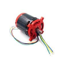 BLDC Brushless DC Sensored Motor Outrunner 30 70V Large 8092 70KV With Hall Sensor For RC
