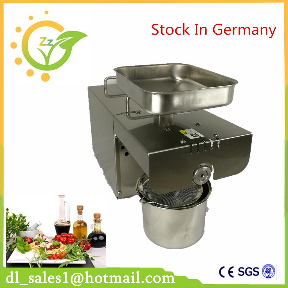 Kitchen Appliances commercial small oil press machine small type home use electric peanut sesame oil press machine for sale