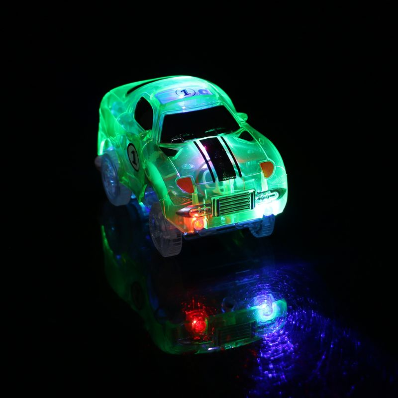 Electronics Car Track Toys 5 Led Flashing Lights Kids Boys Educational Christmas Birthday Gift 50% OFF Tool Sets