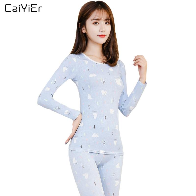 83315bb8aacf Comprar Ropa Interior De Pijama Invierno Caiyier Conjunto Dormir ...