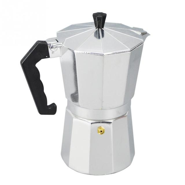 Aluminum 1 3 6 9 12 Cup Latte Mocha Coffee Pot Stove