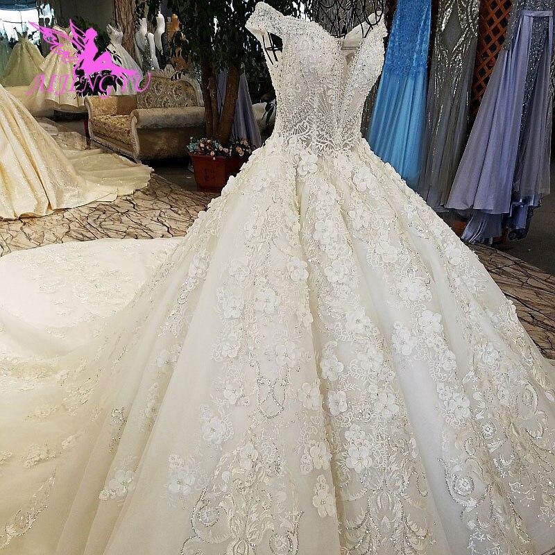 Image 3 - AIJINGYU Wedding Dress Retro Norway Ball Prices White Simple Lace Luxury Gowns Wedding DressesWedding Dresses   -