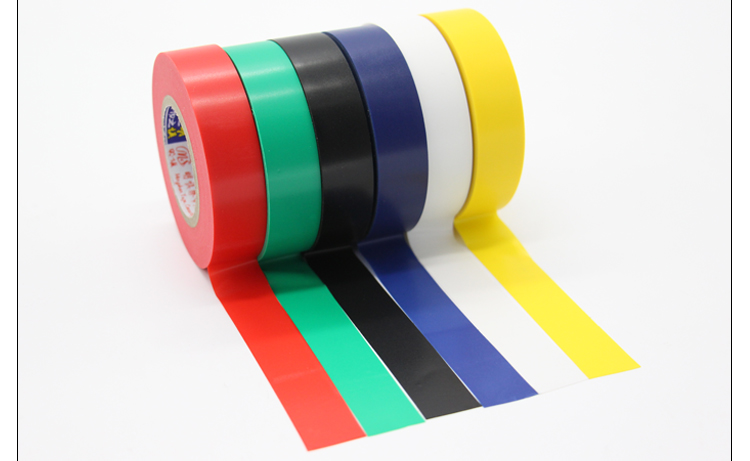 Senior Electrical Tape Insulation Tape PVC Electrical Tape 18 Wide 18 M Long 6 Color Optional Default Black