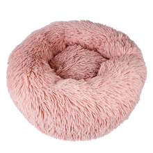 JORMEL Deep Sleep Dog House Round Nest Autumn Winter Cat Mattress for Small Medium Dogs Warm Fleece Dog Kennel Puppy Mat Pet Bed orvis deep dish dog bed with fleece small dogs up to 40 lbs autumn plaid small page 3
