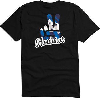 NOVEDAD DE VERANO 2019, Camiseta estampada de manga corta de marca a la moda para hombre-Jdm/troquelada-Bandera-Honduras-Camiseta Victory Slim Fit