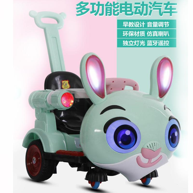 Kids Ride On Cars Children's Electric Car Four-Wheel Remote Control Toy Car 1-5 Years Old Charging Boys And Girls Baby Toy Car