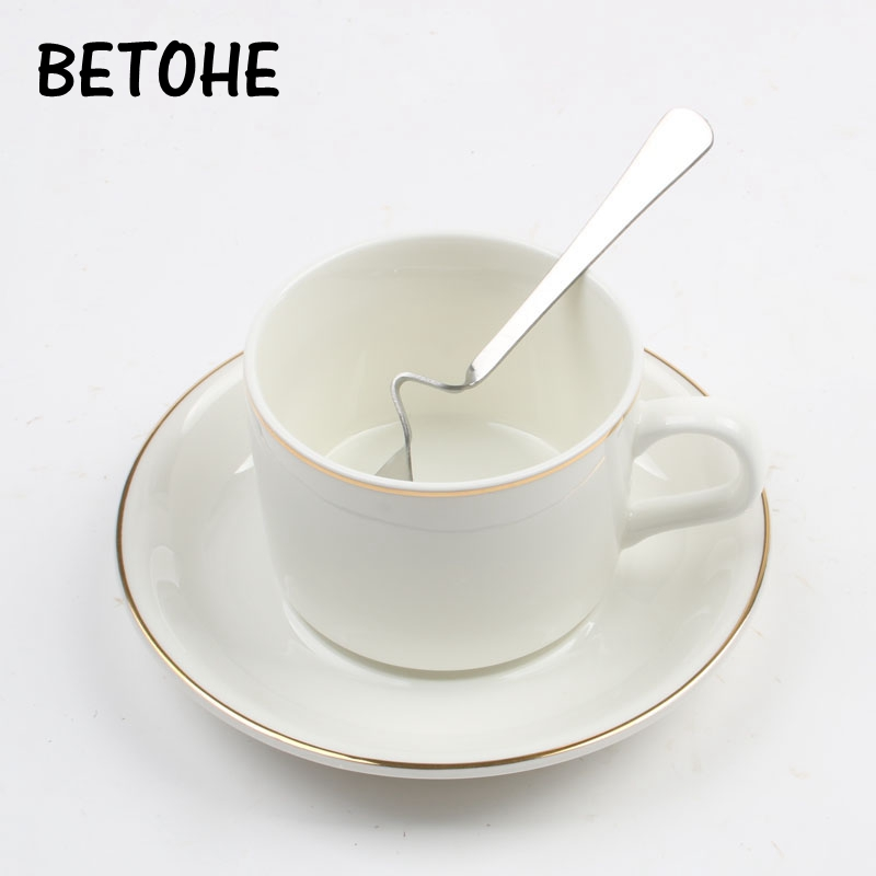 BETOHE European Bone China Coffee Cup Creative European Tea Cup Set And Saucer Home Party Afternoon Tea Teacup Porcelain