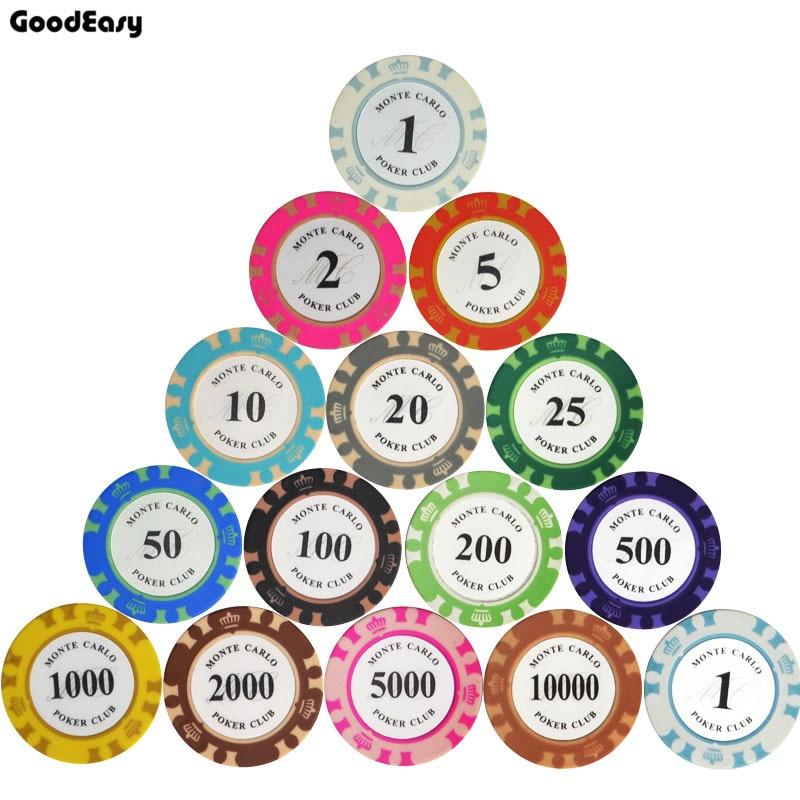 سعر المصنع رخيصة 14g 14 ألوان تاج مونتي - وسائل الترفيه