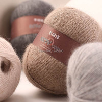 Imiki Quality Cashmere Yarn Thread Crochet Knitting Free Shipping 300g Lot 50g Skein