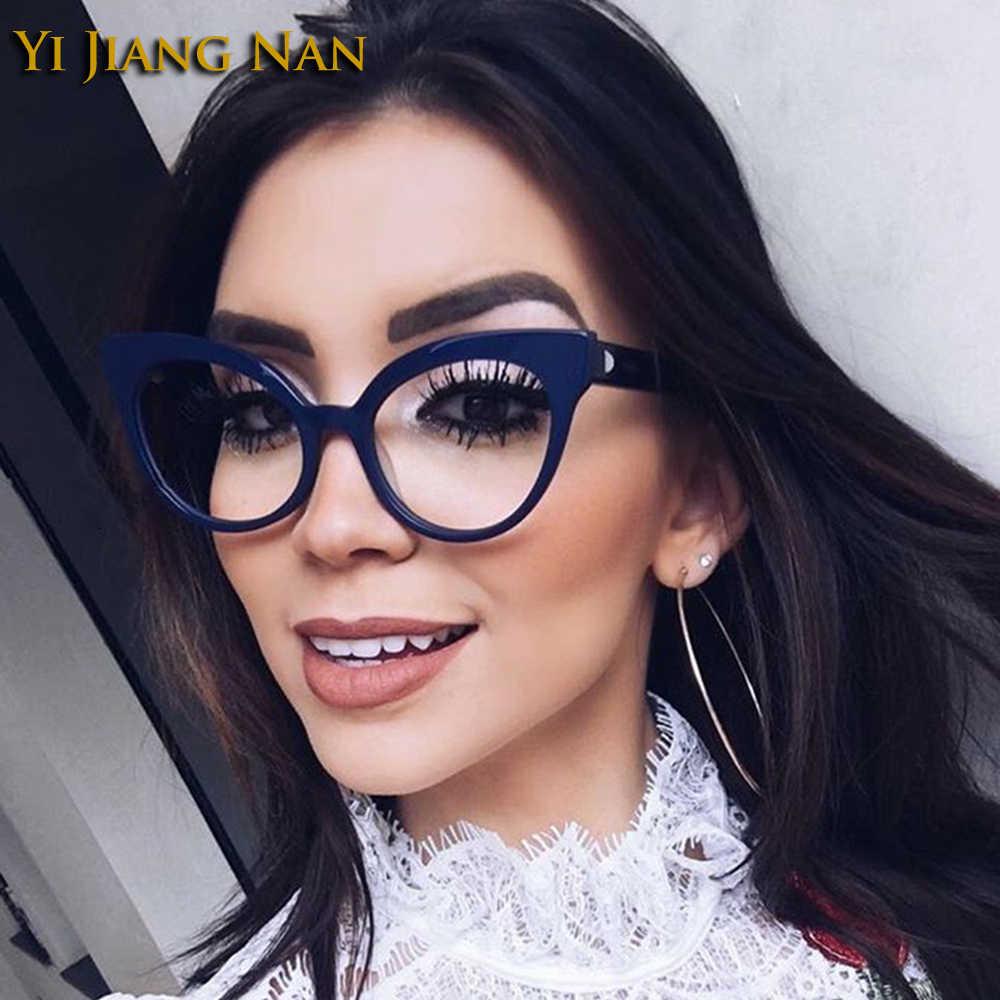 Vrouwen Recept Brillen Frame Cat Eye Fashion Trend Optische Bril voor Vrouwelijke