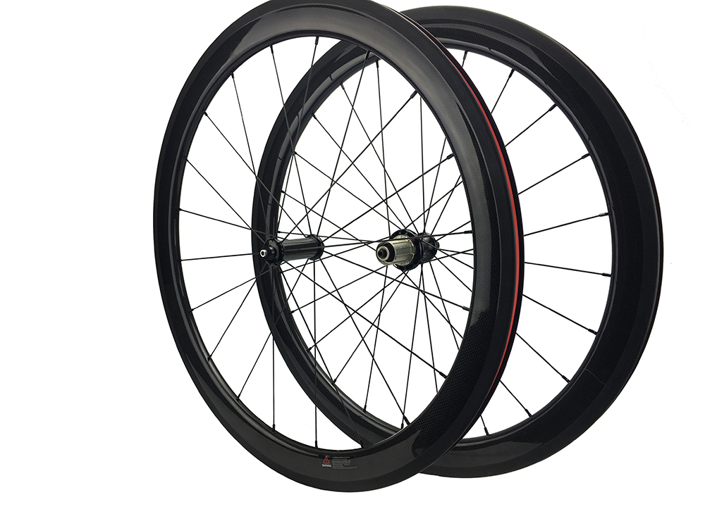 Carbon Bicycle Wheels Road Bike Rim 23mm Width 24 38 50 60 88 mm 3K Carbon Rims