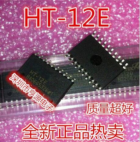 10pcs/lot HT-12E HT12D HT12E HT-12 SOP-20 In Stock