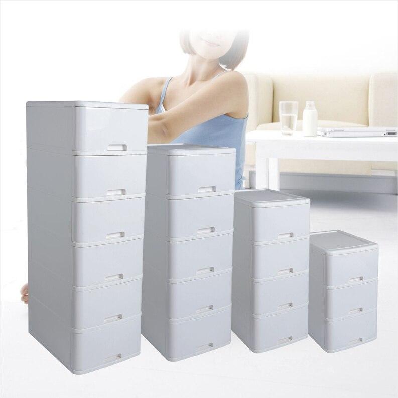 Tout blanc armoire finition armoire de rangement en plastique boîte ...
