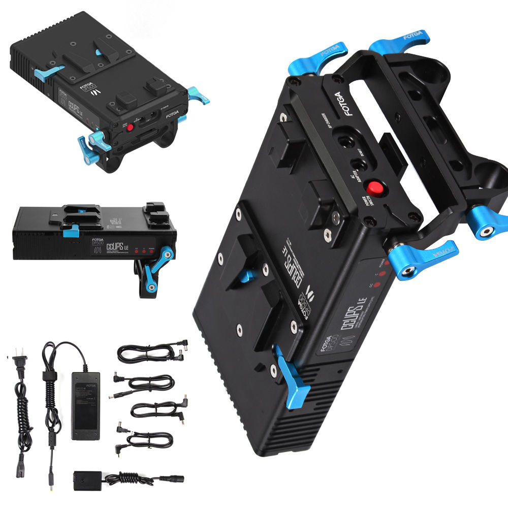 FOTGA DP500 Mark III V Mount Battery Power Supply For Sony A7 A7R A7S A7II A7RII