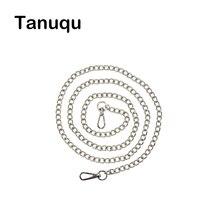 Tanqu Новый Золотой Серебристый плеча цепи Бретели для нижнего белья для вывода карман O сумка металлический ремешок цепи для eva обжог opocket ведро корзина