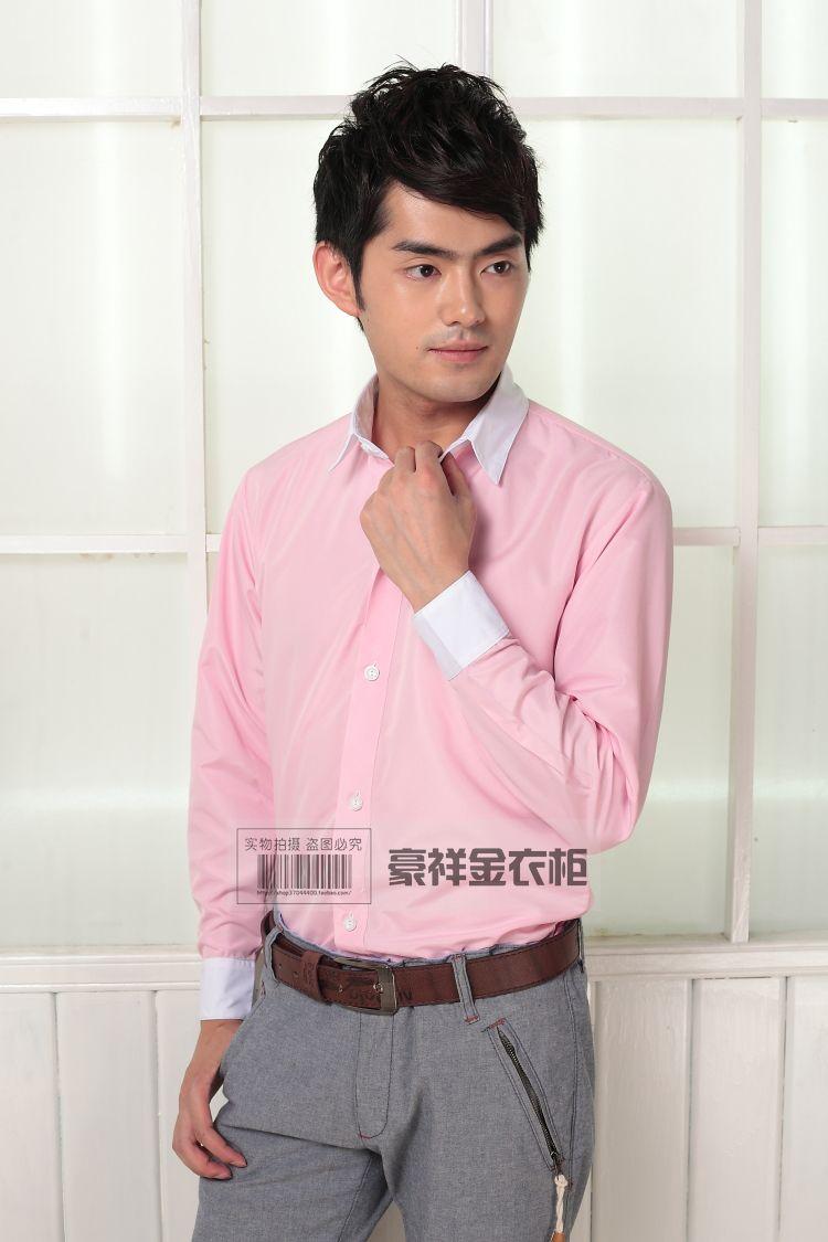 Hot Sale! 2016 Color Cotton Men Brand Shirts High Quality Men\'s ...